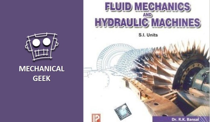 [PDF] Fluid mechanics pdf by RK Bansal Download