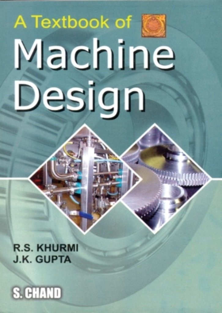 [PDF] Machine Design by RS Khurmi pdf