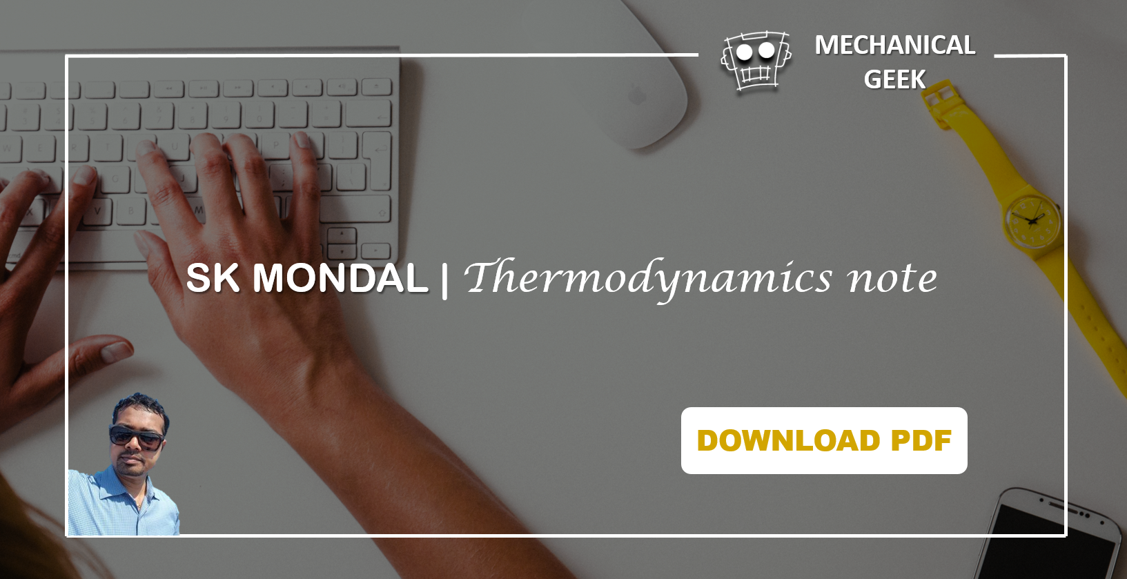 [PDF] SK Mondal Thermodynamics notes for GATE 2018