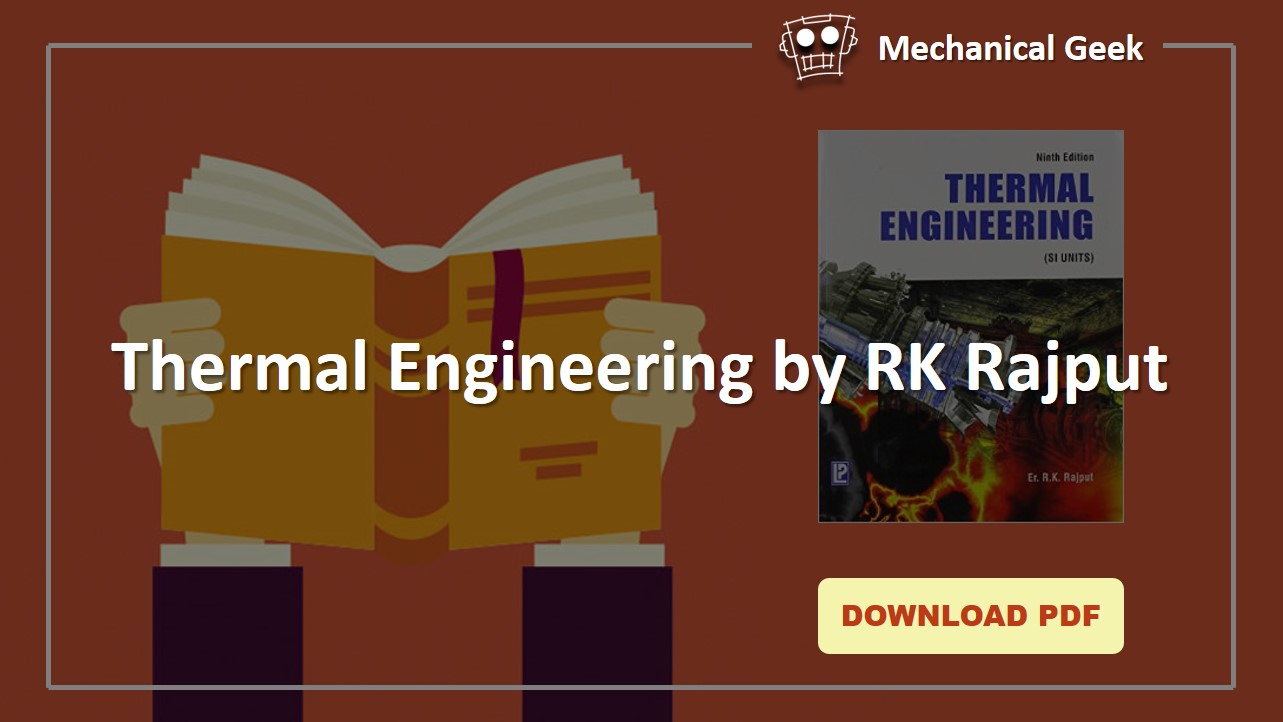 Thermal Engineering by RK Rajput pdf download