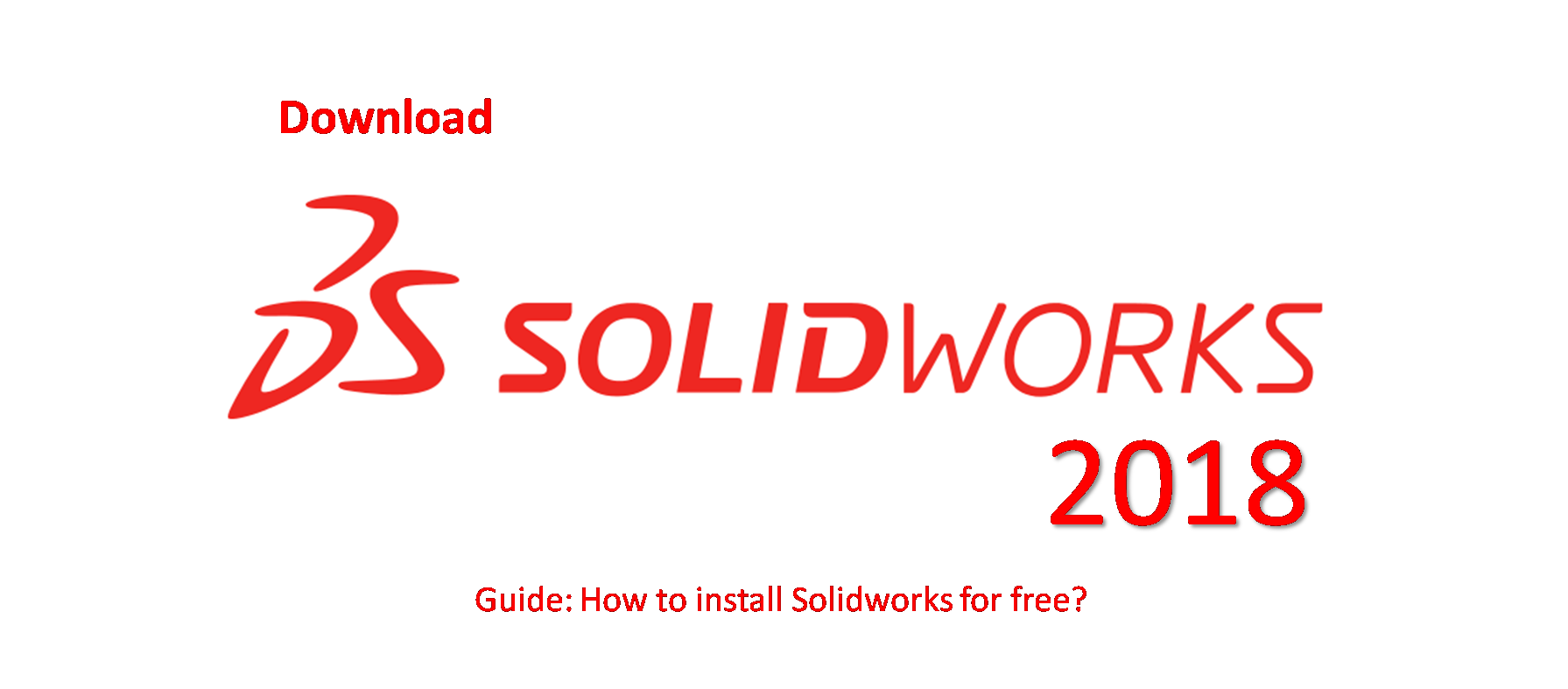 SolidWorks 2018 download free